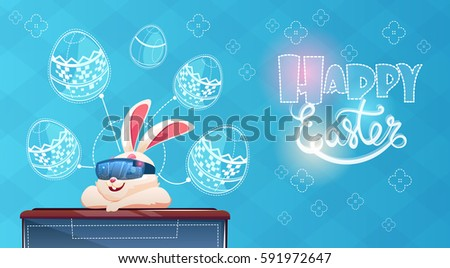 rabbit wear digital glasses