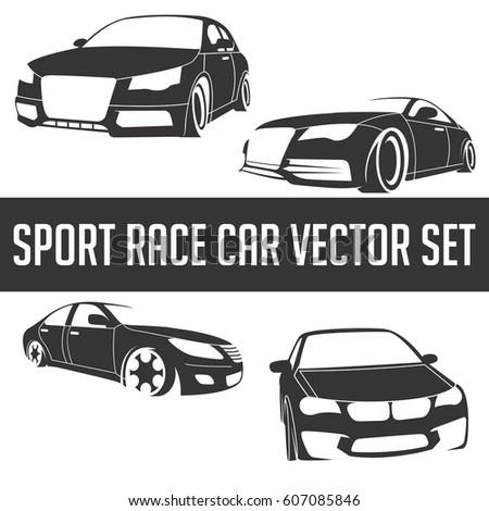 race car silhouette
