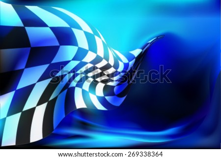 race  checkered flag background