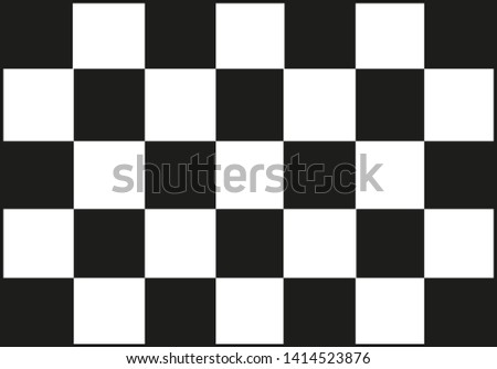 Race flag background vector template
