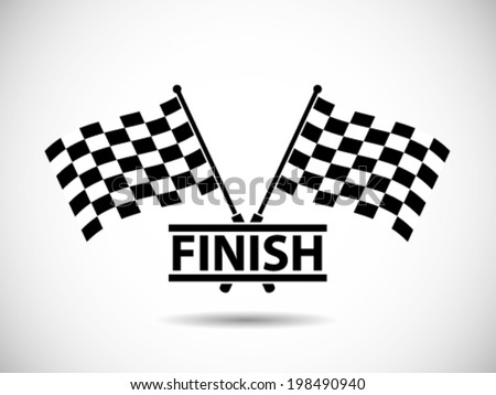 race flag finish