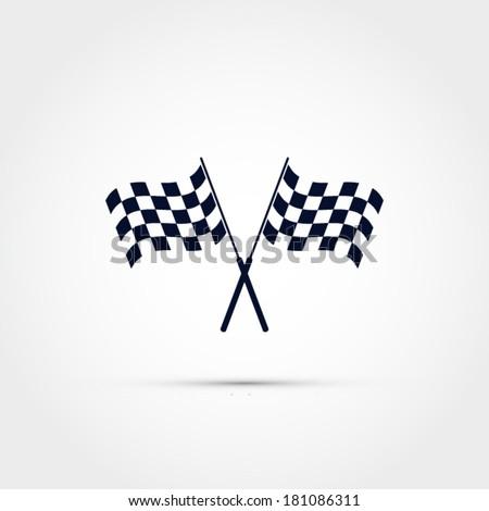 race flag vector