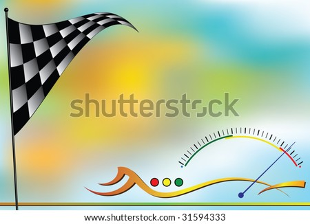 race sports background design