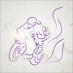 racer motorcycle