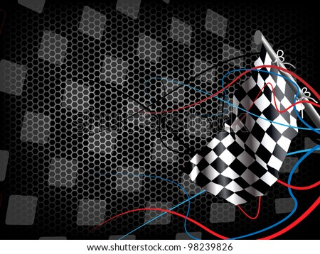 Background Auto Racing on Racing Background Stock Vector 98239826   Shutterstock