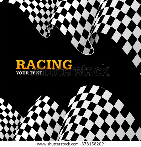 racing background with space