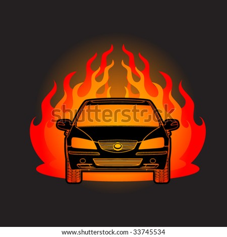 Association Auto  National Racing Stock Vintage on Car Racing Auto Logo Stock Vector Chuvilo Mykhailo 7337974