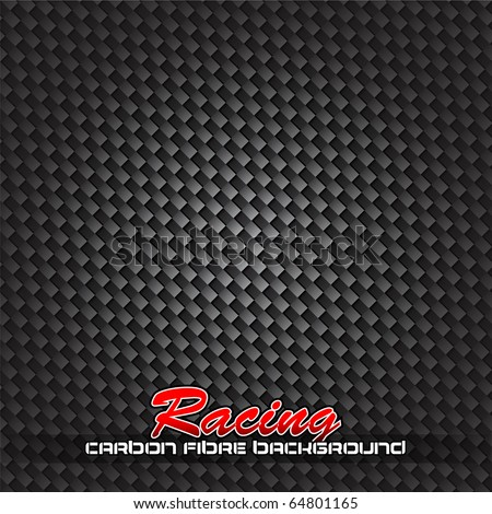 Racing Carbon Fibre Background for Race Posters