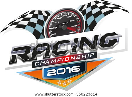 racing championship logo event