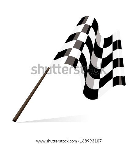 racing flag checkered flag