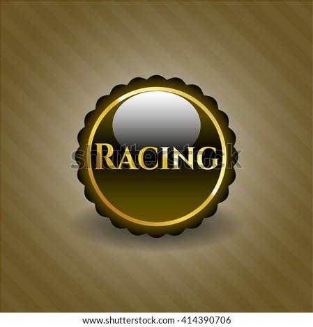 Racing gold badge
