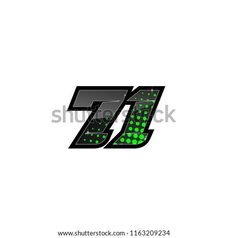 racing number  number start