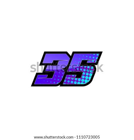 racing number  start racing