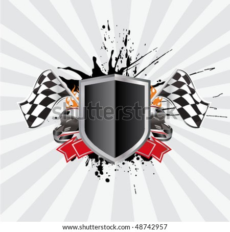 Background Auto Racing on Racing Sign On The Ray Background Stock Vector 48742957   Shutterstock