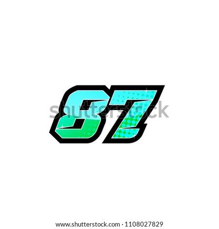 racing sport start number