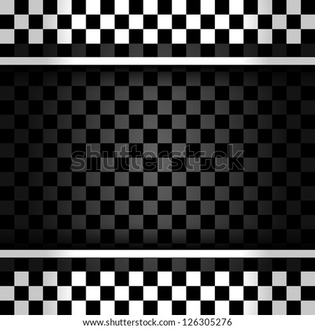 Racing square background, vector illustration 10eps