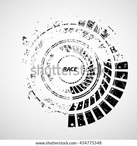 racing tire background  vector