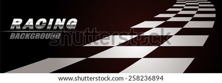 racing way background vector