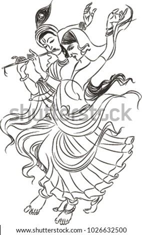 radha krishna  lord  almighty