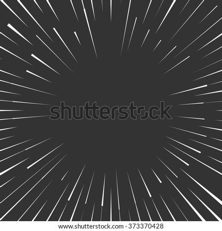 radial speed thin lines graphic