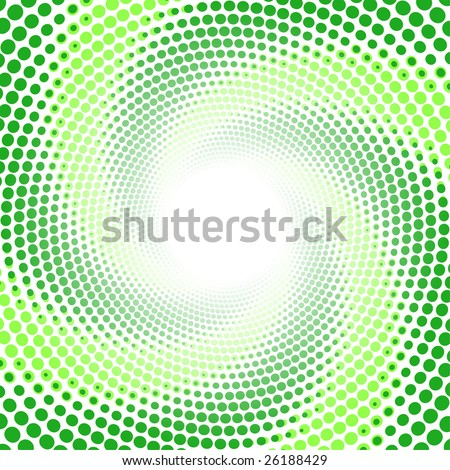 Radial twisted pattern