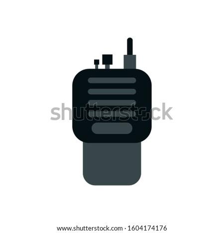 radio communicator portable isolated icon vector illustration design