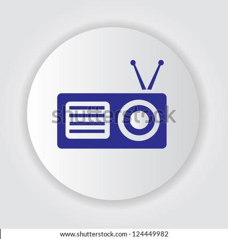 Radio symbol,Vector