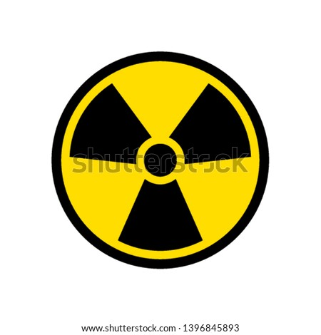 radioactive icon nuclear symbol