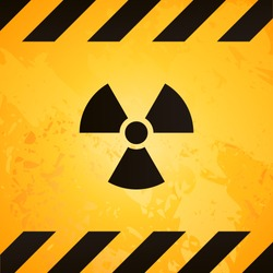 Radioactive nuclear sign