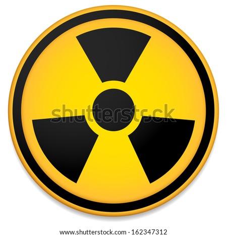 radioactive sign  symbol