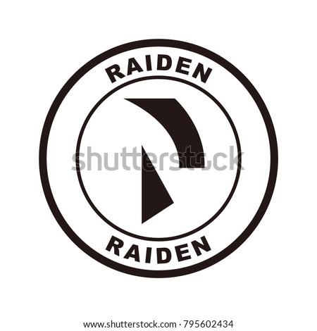raiden network  rdn  logo icon