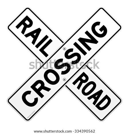 railroad traffic sign   road...