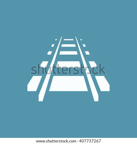 railroad vector icon