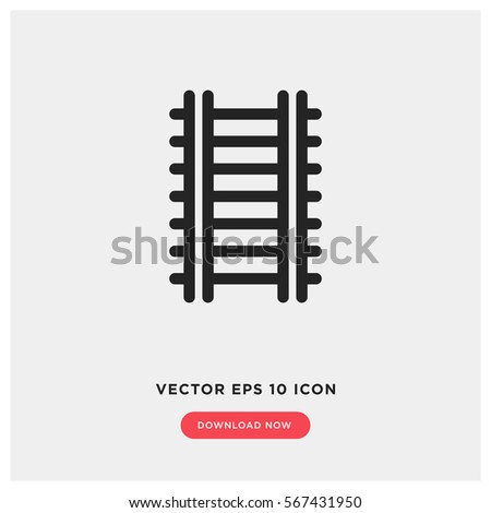 Railway vector icon
