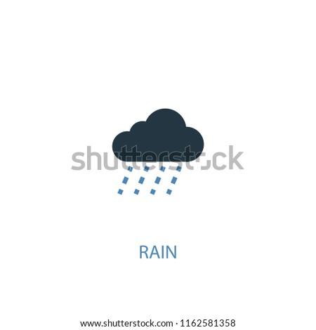 rain concept 2 colored icon
