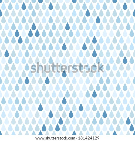 rain seamless background