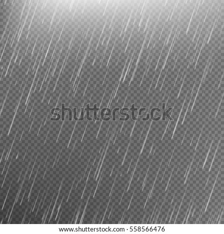 rain transparent template