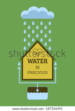 rain water saving