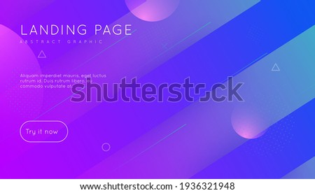 Rainbow Background. 3d Landing Page. Cool Abstract Cover. Gradient Flyer. Digital Shapes. Blue Hipster Design. Spectrum Presentation. Mobile Page. Magenta Rainbow Background