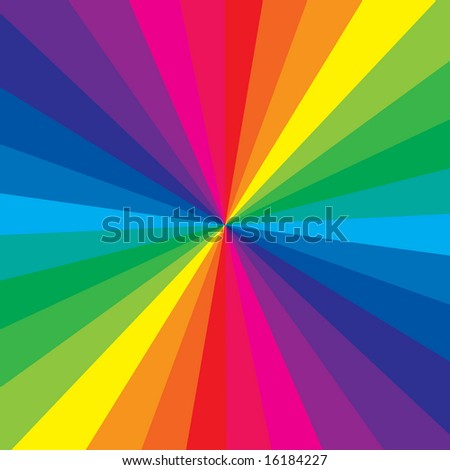Rainbow color makes a very colorful background