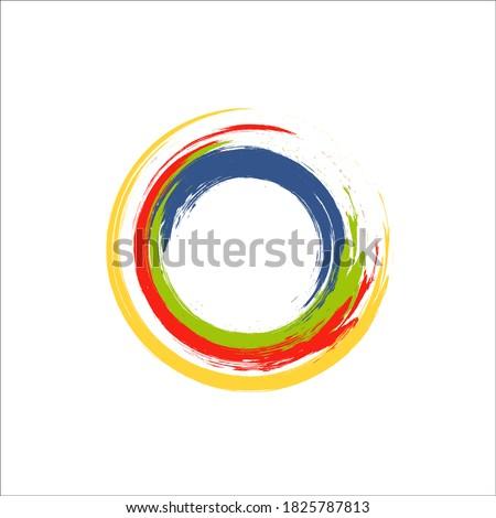 rainbow colors enso symbol