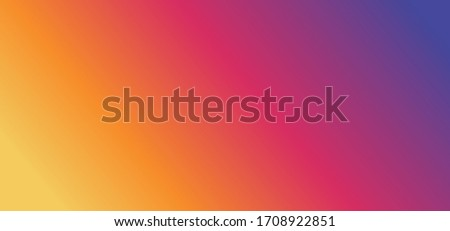 Rainbow colors. Popular social media button icon for chat, talk, mail pictogram. Background gradient cmyk, rgb colour banner or wallpaper texture. Social Media network sign.