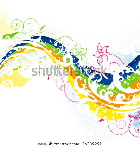 flower background pictures. Rainbow flower background