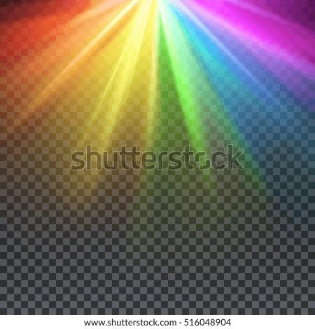 rainbow glare spectrum with gay