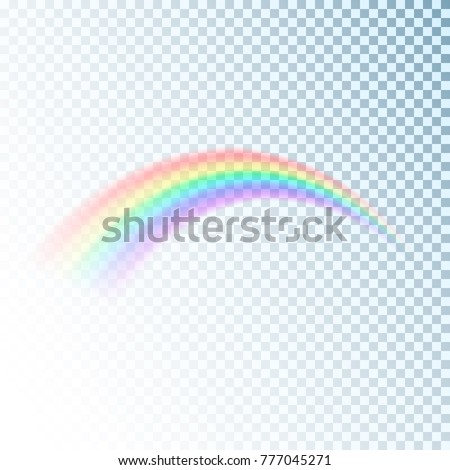rainbow icon colorful light