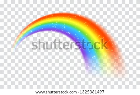 rainbow icon isolated on