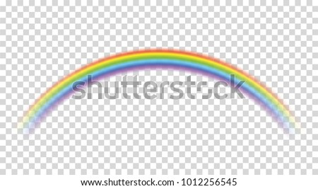 rainbow icon realistic perfect