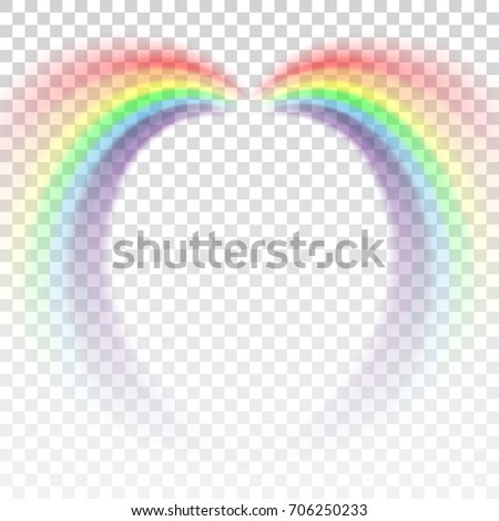 Shape Arch Cartoon Isolated On White Transparent Background Colorful Light And Bright
