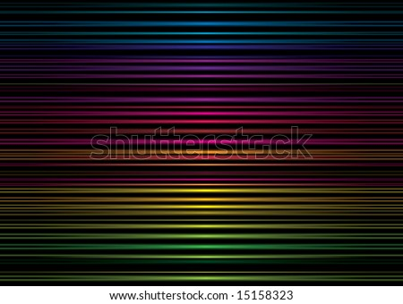 Rainbow neon stripped illustrated background image ideal desktop