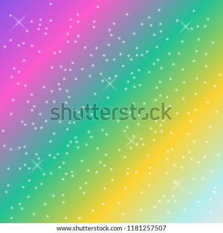 rainbow pastel background, unicorn trendy colors, vector design